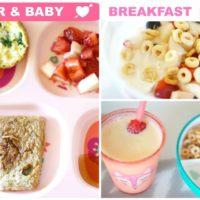 Idei de mic dejun pentru bebelusi